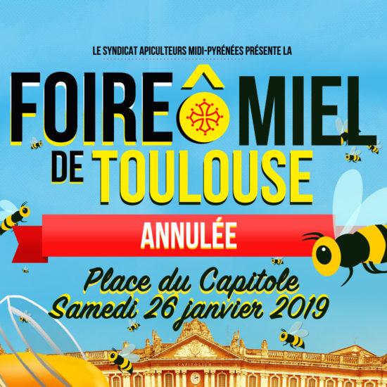 Annulation de la plus grande Foire Ô Miel de France à Toulouse.