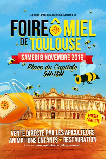 FOIRE Ô MIEL DE TOULOUSE 2019