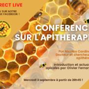 Conférence Apithérapie : soignez vous avec les produits de la ruche