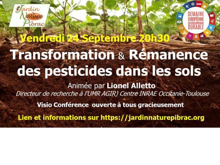 Transformation et rémanence des pesticides dans les sols