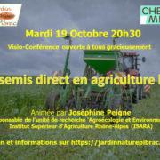 Semis direct en Agriculture bio